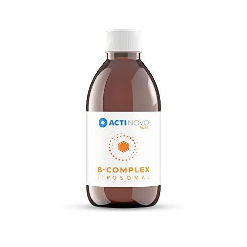 B-Komplex liposomal | Sanddorn 250 ml PURE | hochdosiert | für deinen Stoffwechsel | B1, B2, B3, B5, B6, Biotin, Folsäure, B12 | hohe Bioverfügbarkeit | flüssig | ohne Zusätze | vegan