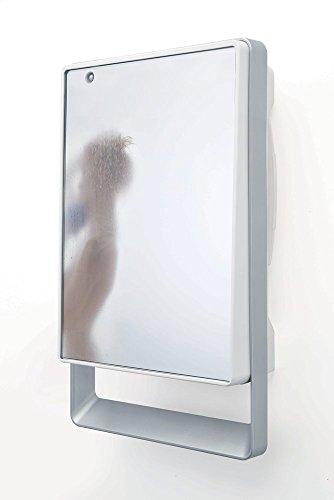 Radialight TBSLI031 Termoventilatore da bagno con specchio e Timer Folio Visio 1800W