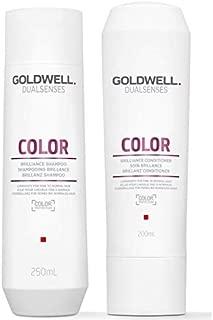 Goldwell Dualsenses Color Brilliance Shampoo & Conditioner 10.1oz Each Set