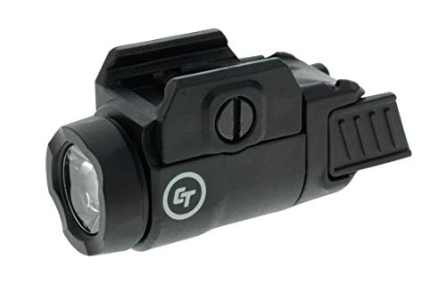 Crimson Trace CMR-209 Rail Master Universal 200 Lumen Weapon Light with Ambidextrous Controls and Pic Rail Mount for Tactical Carry, CCW and Competition