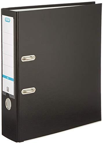 Elba Smart Pro ordner A4 80 mm PP/papier zwart pak 5 stuks