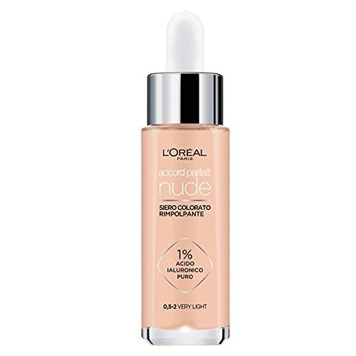 L'Oréal Paris Siero Colorato Accord Parfait Nude, 9 toni disponibili