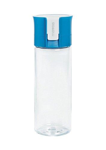 Mavea microdisc Wasser Filter Flasche, Blau