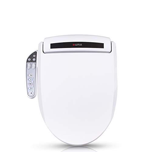 Lotus Smart Bidet ATS-800 FDA Registered, Heated Seat, Temperature Controlled Wash, Warm Air Dryer, Easy DIY Installation, Made in Korea