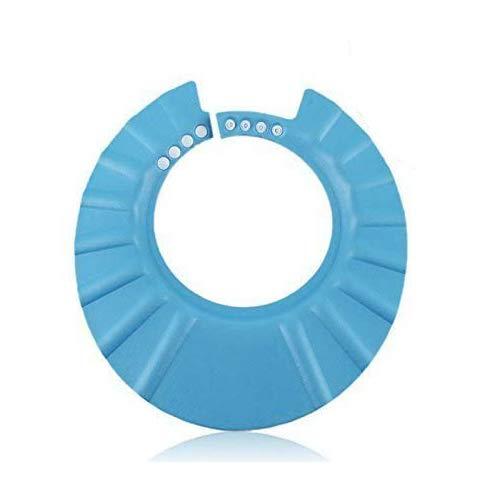 BeatlGem Safe Shampooing Douche de Bain Doux Bonnet de Protection pour Les Tout-Petits, Bébés, Enfants et Enfants à Garder L'eau de Leurs Yeux et Le Visage (Bleu)