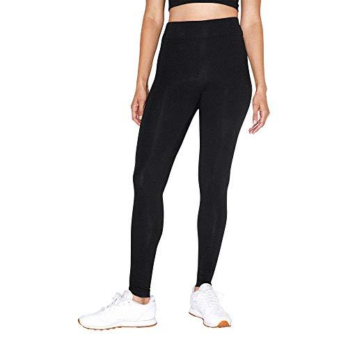 American Apparel Women#039s Cotton Spandex Jersey HighWaist Leggings Black Small