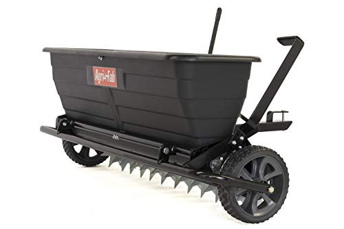 Agri-Fab 45-0545 175 lb. Tow Spiker/Seeder/Drop Spreader, Black