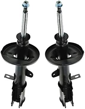 Rear Strut Assembly - trend rank Set 1 year warranty of Compatible 1988-1992 2 with Toyot