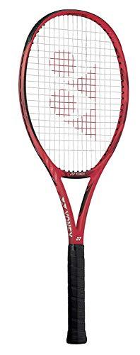 YONEX VCORE 25 16x18 Midplus (100 Square Inch Head) Junior Tennis Racquet (4' Grip) Strung with White String (Best Racket for Tournament Juniors)
