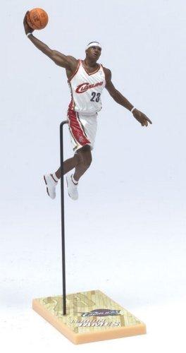 McFarlane Toys NBA 3 Inch Sports Picks Series 4 Mini Figure LeBron James 2 (Cleveland Cavaliers) by McFarlane's Sportspicks