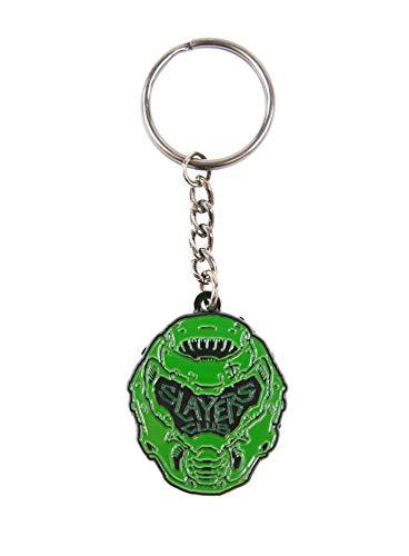 Official DOOM Slayer Keyring / Keychain