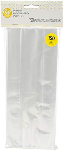 Wilton Party Bags 150/Pkg, Clear