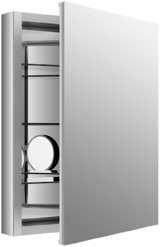 KOHLER K-99007-NA Verdera 24-Inch By 30-Inch Slow-Close Medicine Cabinet With Magnifying -