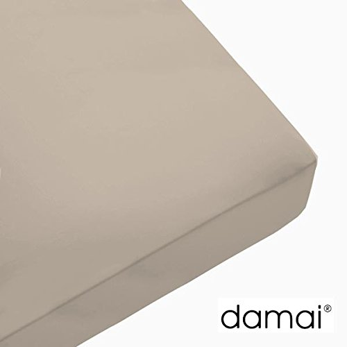 Damai Damai Nightkiss Topper hoeslaken paddenstoel - 5-8cm - 100 x 220 cm 100% katoen