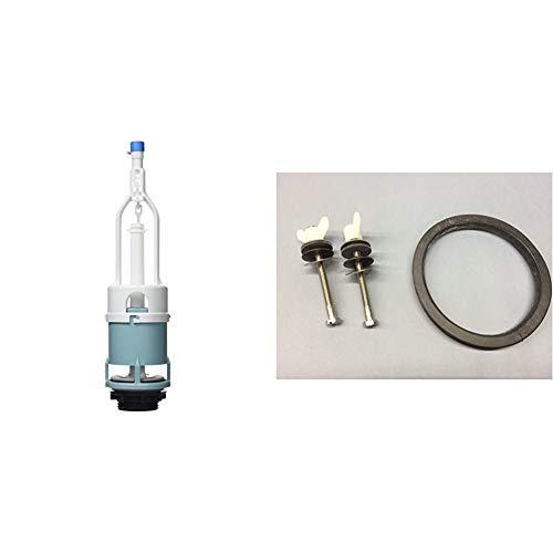 Roca - Kit Mecanismo Descarga D + AV0007400R - Fijación y junta taza tanque Victoria