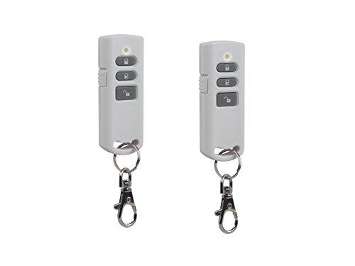 Set van 2 afstandsbediening voor ELRO Smart Home alarmsysteem S84000, afstandsbediening alarmsysteem