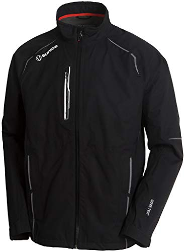 Best Bargain Sunice Men's Orion Gore-TEX Paclite Stretch Jacket Black/White MD