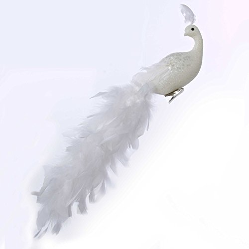 Kurt Adler 18' Long Tail Feather Phoenix Clip Ornament #H6075