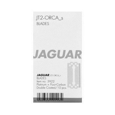 10er Set: Jaguar Rasiermesser Klingen JT2 und Orca S kurz 10er Pack = 100 Stück