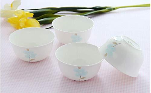 LILICEN Bone China Bowl 4,5 Pollici zuppiera di Porcellana Ciotola di Riso Domestico Osso Noodle Ciotola da tavola Il Dessert Ciotola di Ceramica