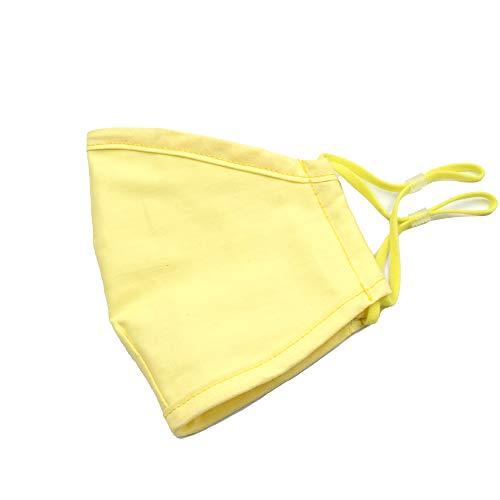 Wiederverwendbar und waschbar, Staubdicht, verbesserte Qualität für Kinder und Mädchen (gelb).