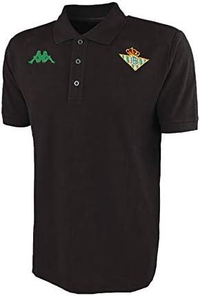 Kappa Camiseta Tipo Polo Real Betis 2019/2020 Negro,Hombre,XL