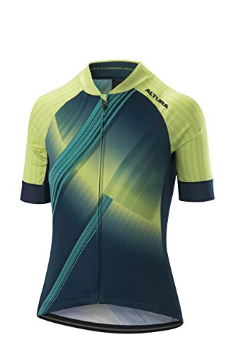 Altura Icon Orbit Maillot à Manches Courtes Femme, Teal/Green, Taille