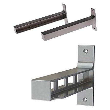 IKEA EKBY BJARNUM Soportes laterales para estante y soporte ...