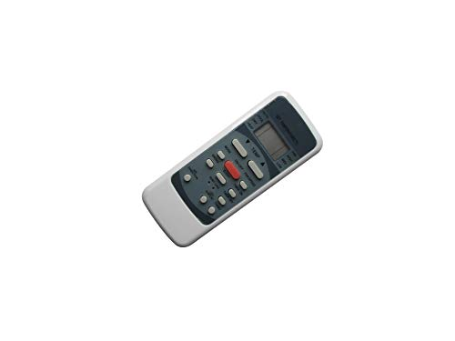 Hotsmtbang Replacement Remote Control for Goodman MSC092E MSC122E MSC123E MSC183E MSC243E MSH092E15AX MSH123E15AX MSH123E19AX MSH183E15AX Heat Pump Mini-Split System Air Condtioner