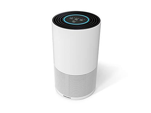 Soehnle Purificador de aire Airfresh Clean 400, filtro de aire con sistema de filtrado en 4 fases y luz ultravioleta, purificador ambiental para hogar ⭐
