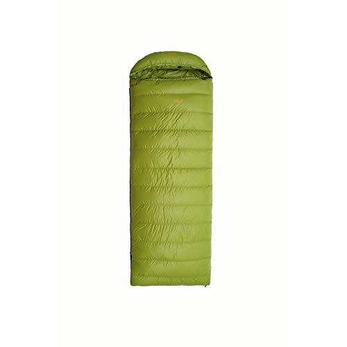 ZHANG HONG-carpet Z-H-C Sac De Couchage avec Sac De Compression Légère Extérieur Convient for La Nuit Et Backpacking Randonnée Respirante Et Chaude (Color : Green, Size : 1500g)