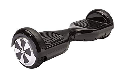 """Monopatín Eléctrico - Hoverboard Balance Scooter para Auto-equilibro 6.5"""". 500W. Bluetooth, Batería Litio y Autonomía de 15Km. (Negro)"""