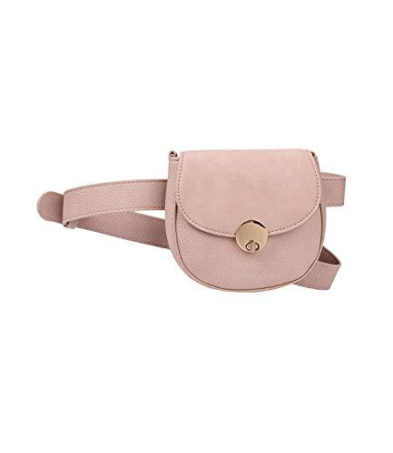 SIX Mini Belt-Bag in Altrosa aus veganem Ledermix (726-840)