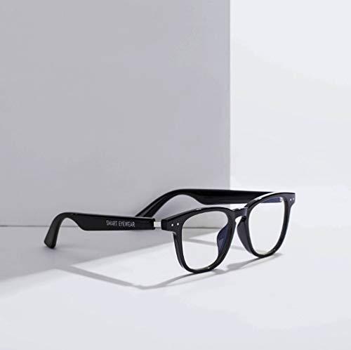 SMSOM Gafas Inteligentes Gafas de Sol Bluetooth Inalámbrico Bluetooth Open Ear Música y Llamadas de Manos Libres, para Hombres y Mujeres teléfonos móviles y tabletas.