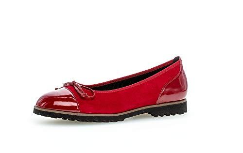 Gabor Fashion balerina sportowa czerwona 64.100.13 czerwona, czerwony - Rot Rubin Cherry 13 - 41 EU