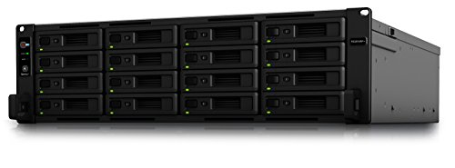 Synology RS2818RP+ Estación de Rack NAS de 16 bahías (sin Disco)