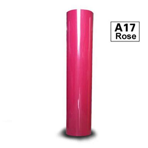 1 vel 30cmx100cm Heat Transfer Vinyl T-shirt opstrijkbare HTV-bedrukking, roze