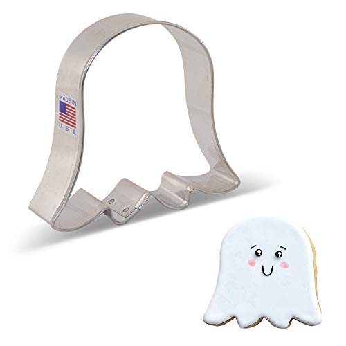 Ann Clark Cookie Cutters Cute Ghost Cookie Cutter, 3.5'