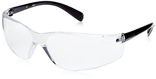 Uvex Unisex Erwachsene Sportbrille Flash, Black clear, one size