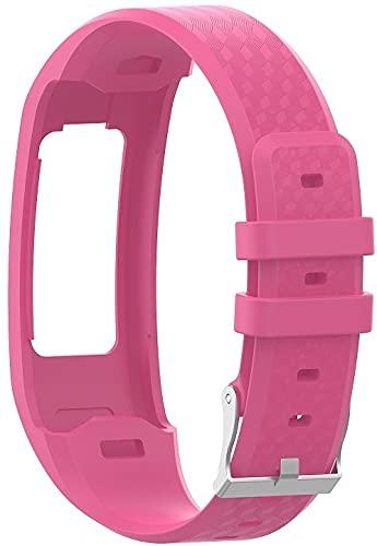 Gransho Correa de Reloj Recambios Correa Relojes Caucho Compatible con Garmin vivofit 1 / Vivofit 2 - Silicona Correa Reloj con Hebilla (Pattern 7)