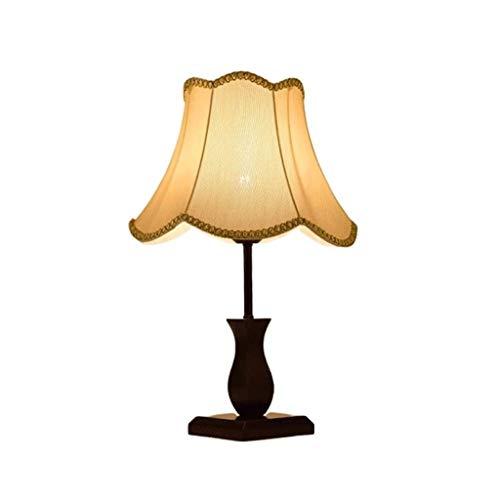 Lámpara de mesa Tabla moderna Lámpara clásica china simple lámpara de mesa lámpara de cabecera del dormitorio creativo de la boda de atenuación caliente lámpara de mesa de madera Mesita de Noche Lámpa