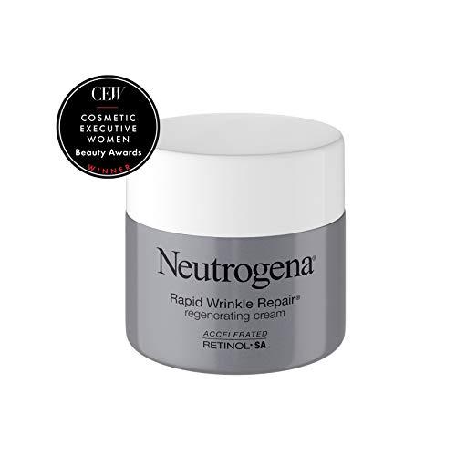 31L3oOZ8GiL - Neutrogena Rapid Wrinkle Repair Retinol Regenerating Anti-Aging Face Cream & Hyaluronic Acid; Anti-Wrinkle Retinol Moisturizer & Neck Cream, with Hyaluronic Acid & Retinol, 1.7 oz