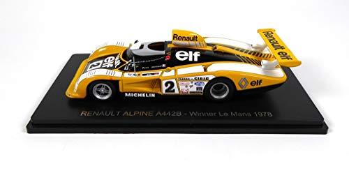 OPO 10 - Renault Alpine A442B # 2 Sieger Le Mans 1978 - Pironi-Jaussaud - Spark 1/43 für Hachette Japon (08)