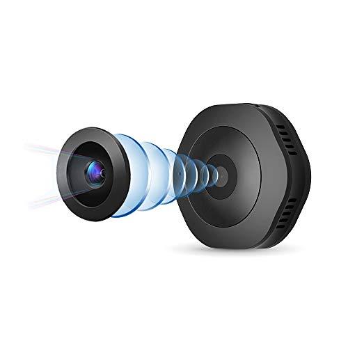 Mini Cámara, HD 1080P WiFi Cámara De Seguridad para El Hogar Pan/Tilt/Zoom, Sistema De Vigilancia Interior Inalámbrico IP - Visión Nocturna, Monitor Remoto para Bebés iOS