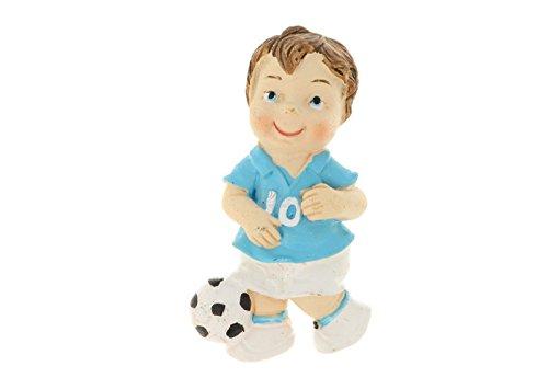 Donipreziosi Magnet für Kinder, Fußballspieler aus Kunstharz, 5 Stück, 2870A