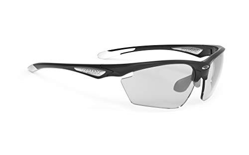 Rudy Project Stratofly Brille Black Gloss - impactx photochromic 2 Black 2021 Fahrradbrille
