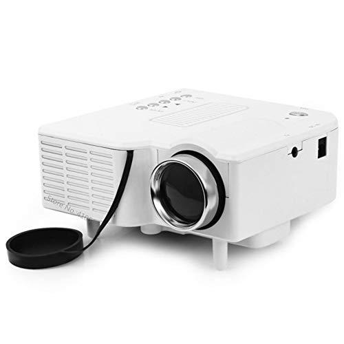 Xxw Mini-home videoprojector met HDMI-PC USB-LED-lamp 20.000 uur draagbare beamer-ondersteuning NTSC PAL SECAM-signaalsysteem