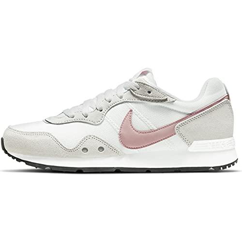 Nike Venture Runner, Zapatillas para Correr Mujer, White Pink Glaze Platinum Tint Black, 39 EU