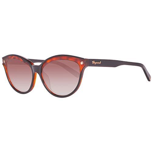 DSquared Dsquared2 Sonnenbrille Dq0209 05F 58 Gafas de sol, Negro (Schwarz), 52 para Mujer