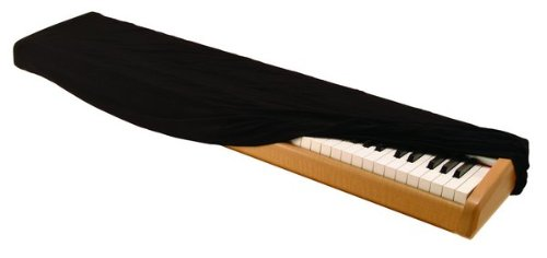 On-Stage Keyboard Dust Cover for 88 Key Keyboards, Black
